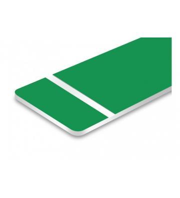 Bicapa verde oliva laserable. 1,6 mm