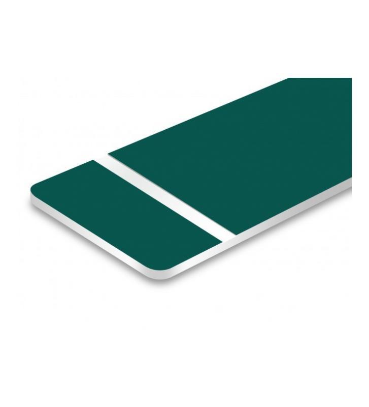 Bicapa verde pino laserable. 1,6mm