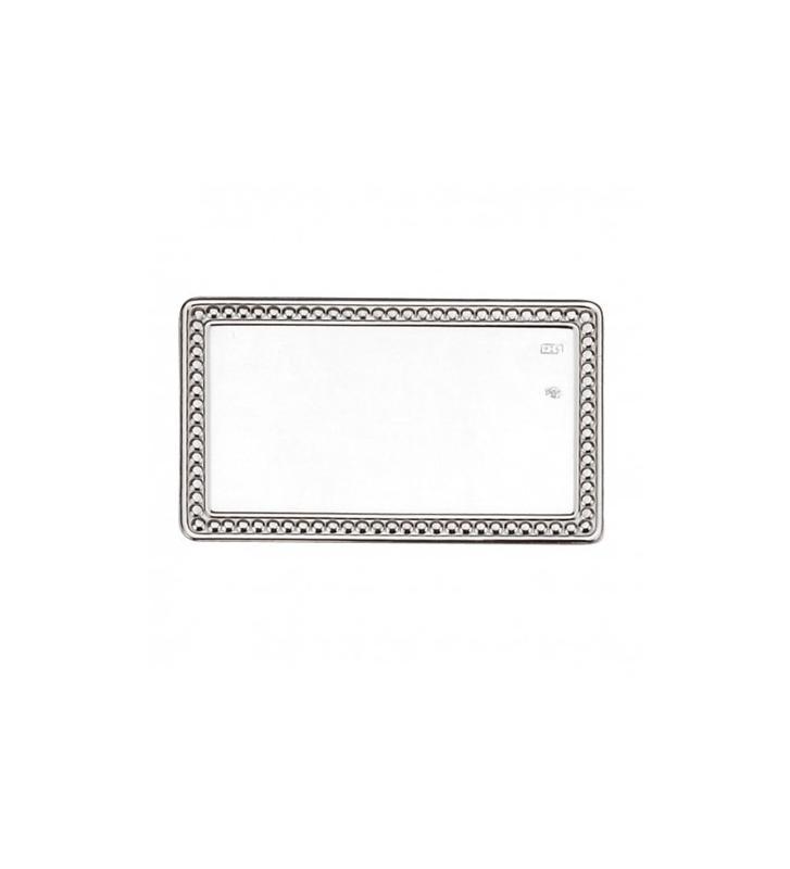 Lamina aluminio perla grabada