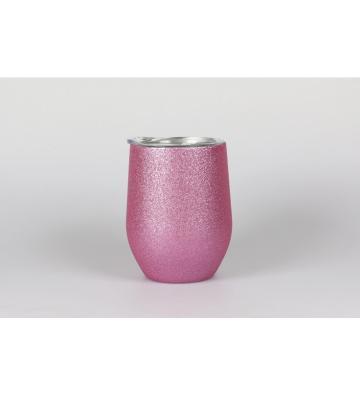 Taza laserable purpurina